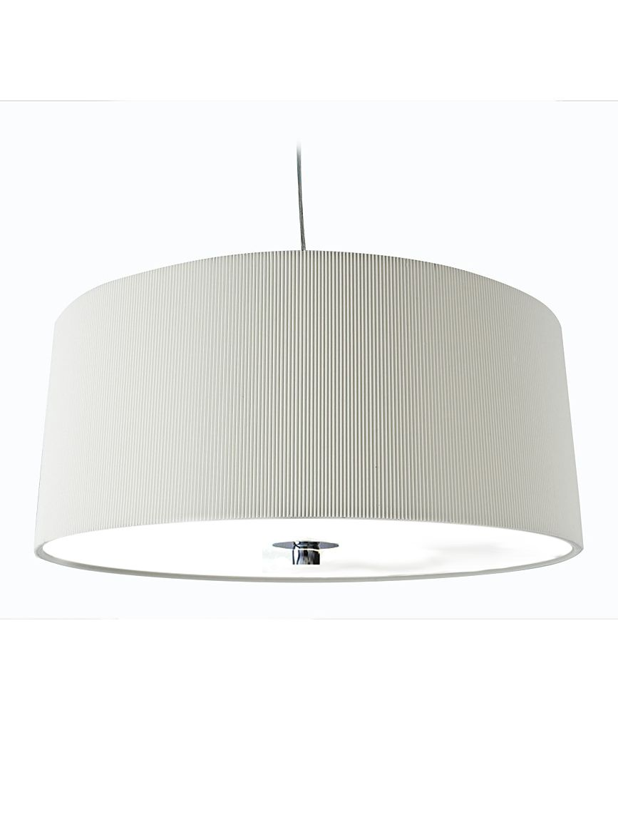 Zaragoza large cream ceiling pendant by House of Fraser