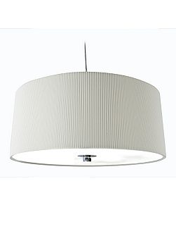 Zaragoza large cream ceiling pendant
