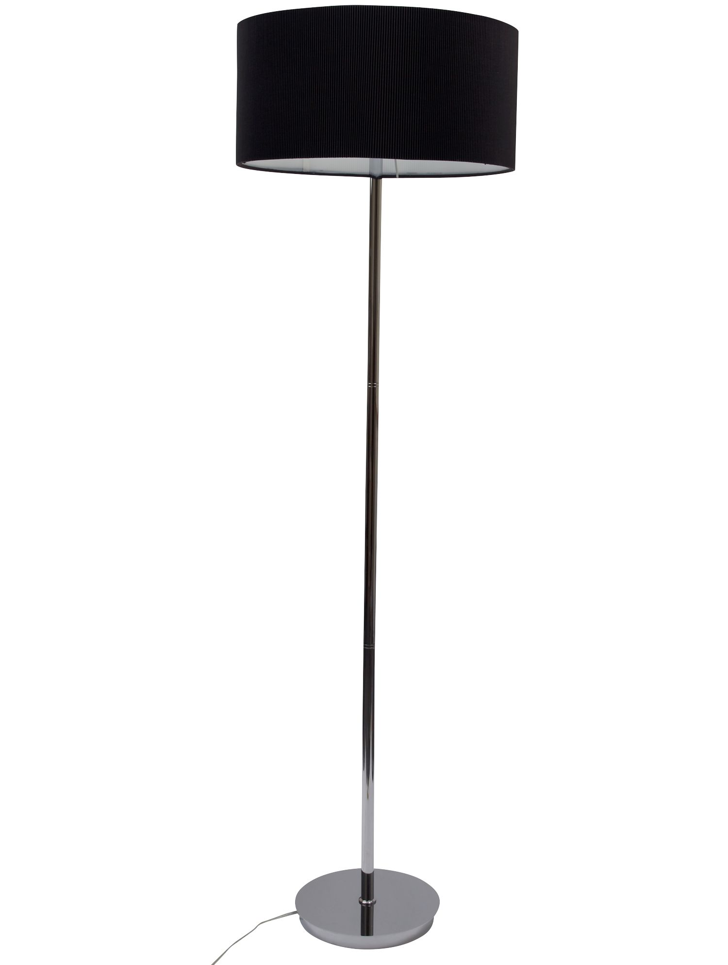 Zaragoza black floor lamp by House of Fraser