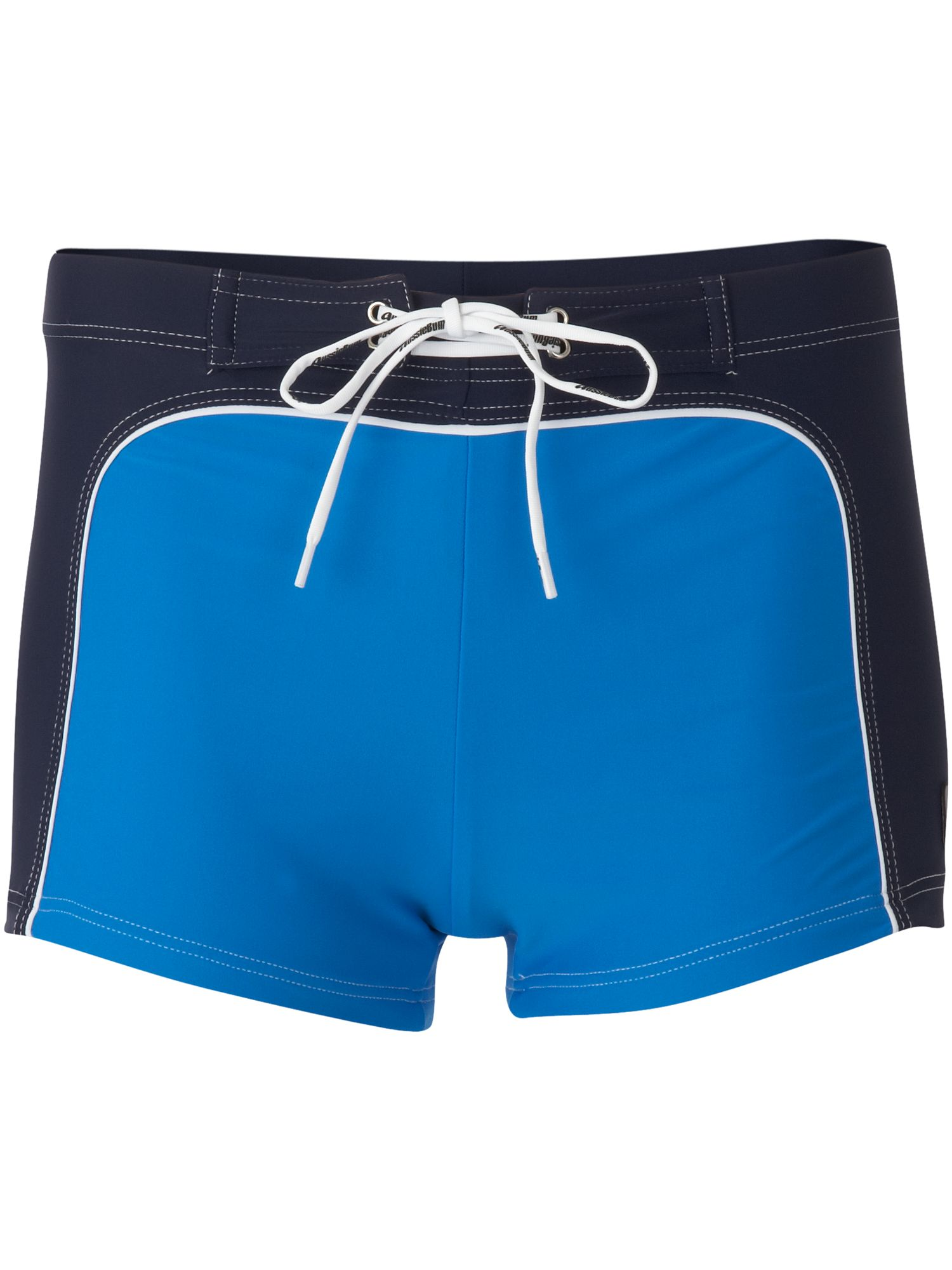 70s contrast colour swim shorts