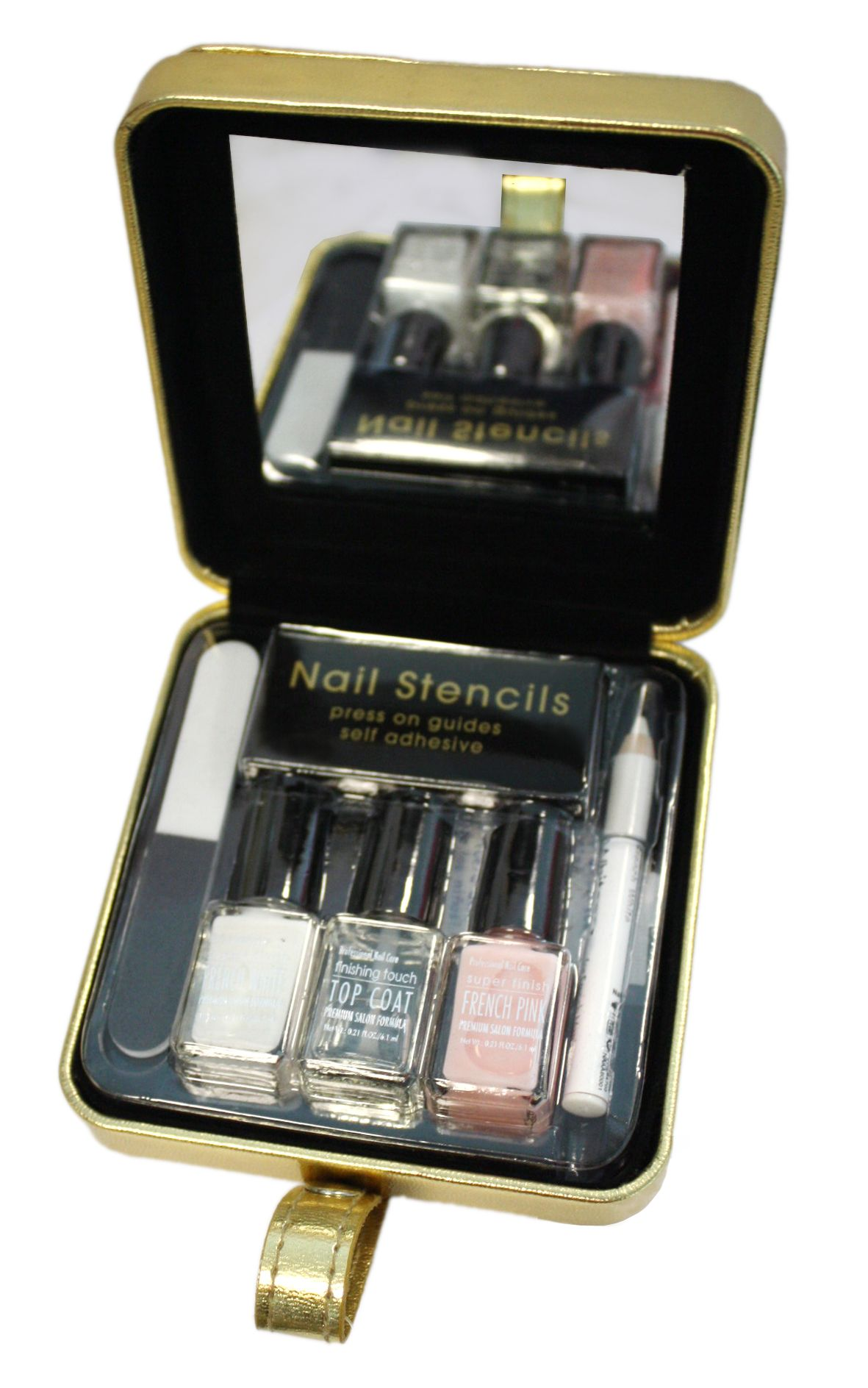 markwins mini french manicure set review compare prices buy online. Black Bedroom Furniture Sets. Home Design Ideas