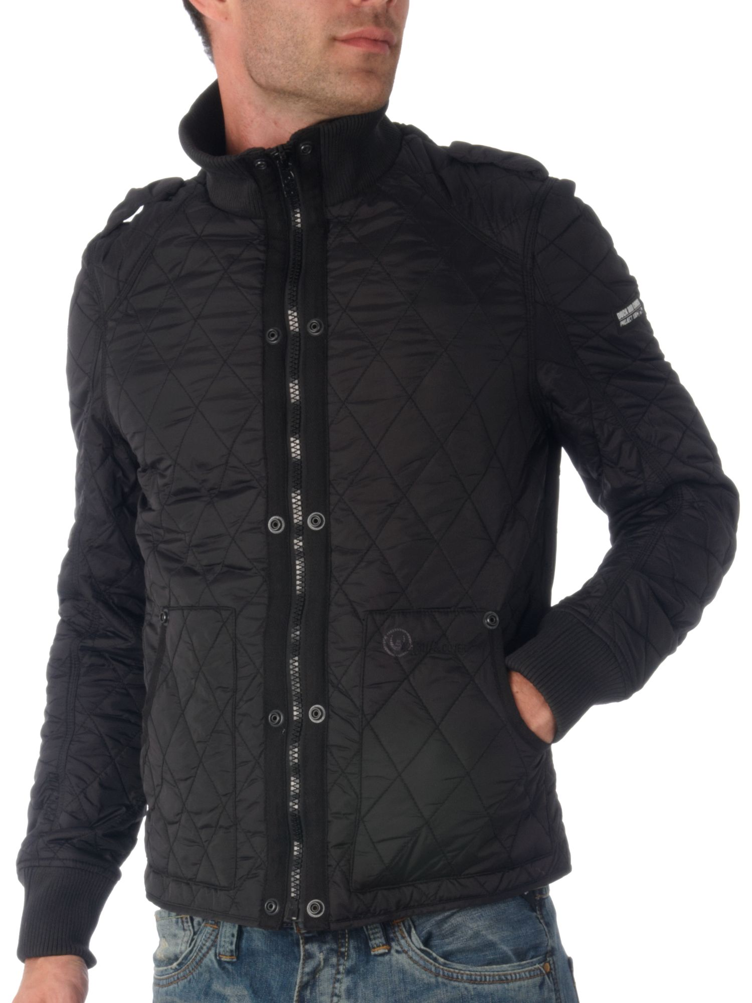 Duck and Cover Mid length quilted jacket