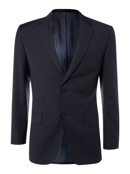 Linea Single breasted sharkskin jacket