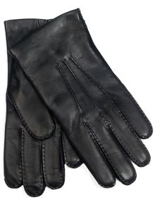 Dents men`s cashmere mix lined leather glove