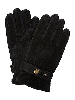 Mens casual suede glove