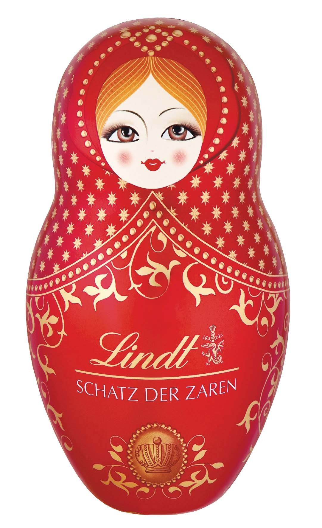 Babuska doll tin