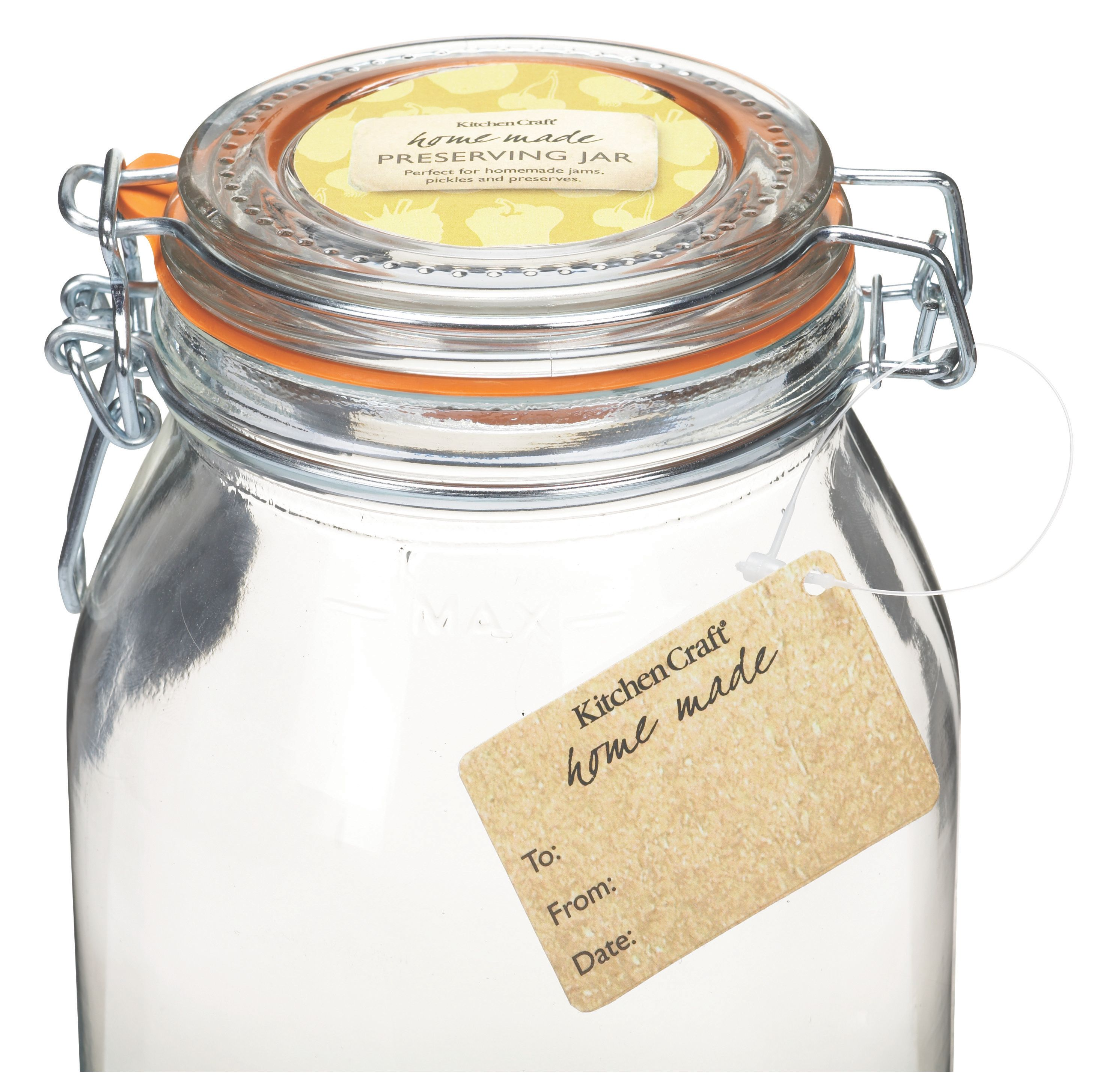 Buy cheap glass jam jar compare products prices for best for Kitchen craft cookware prices