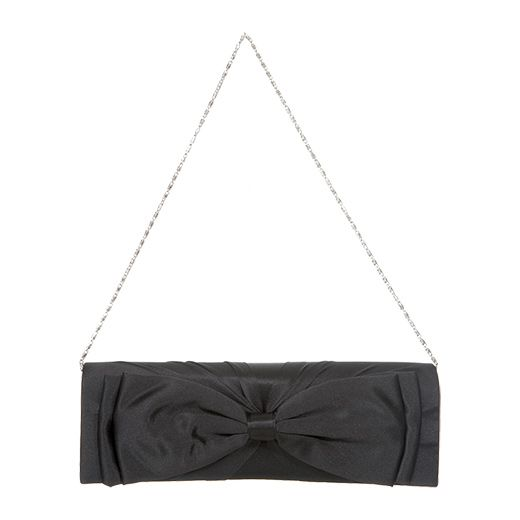 Juno B long bow clutch bag