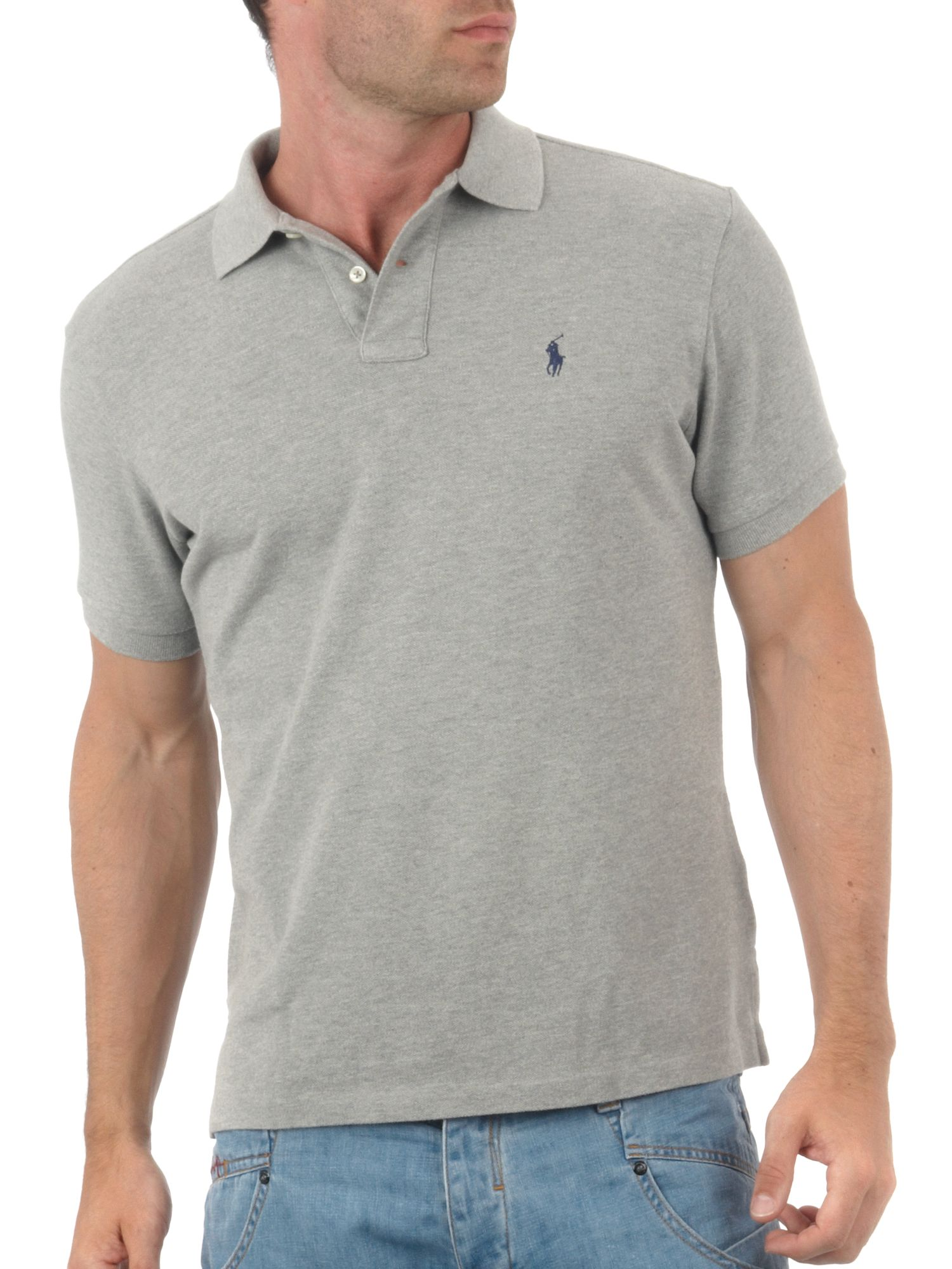 Custom fit polo shirt
