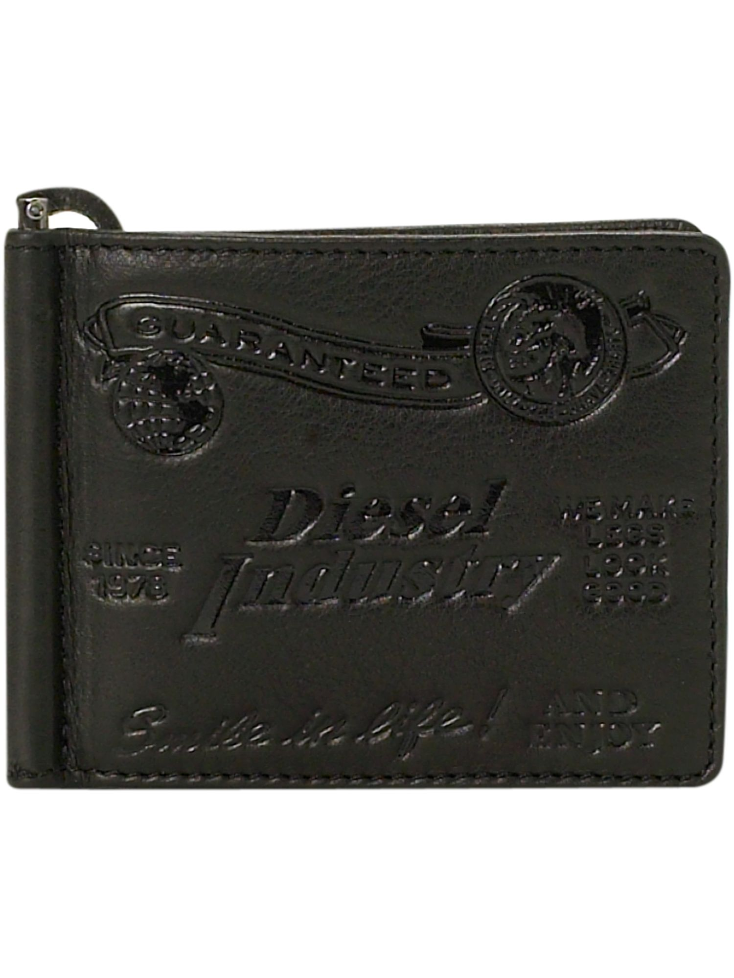 Diesel Card and notes holder leather wallet product image