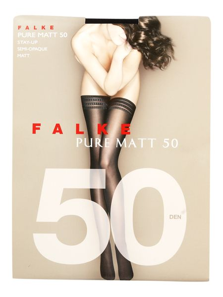 Falke Pure matt 50 denier semi opaque hold ups
