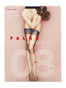 Falke Lunelle peacock 8 denier hold ups