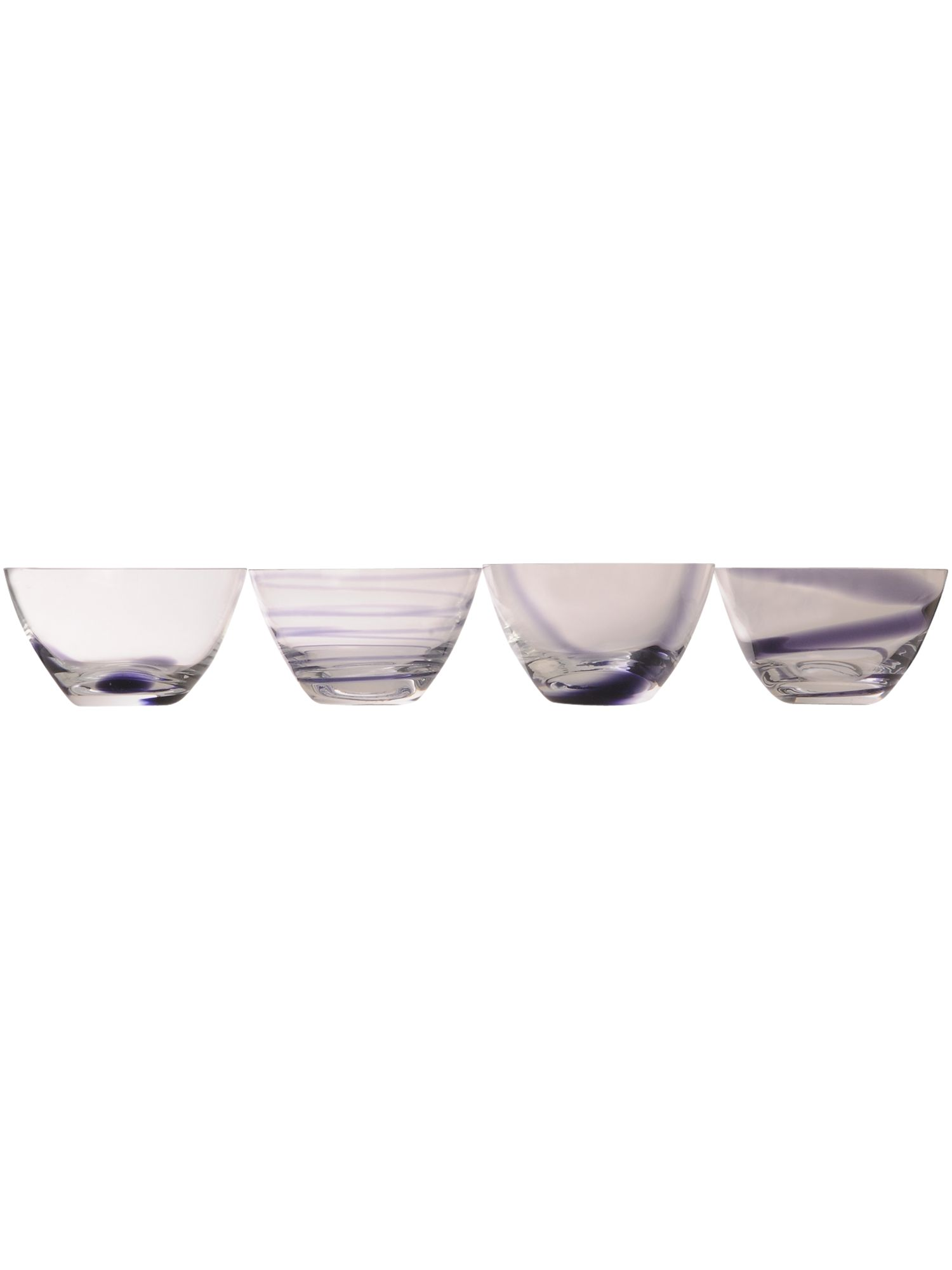 Jazz set of four small bowls