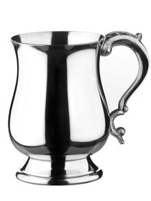 Arthur Price Georgian 1 pint pewter tankard