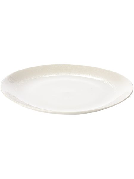Monsoon by Denby Monsoon Lucille gold round platter