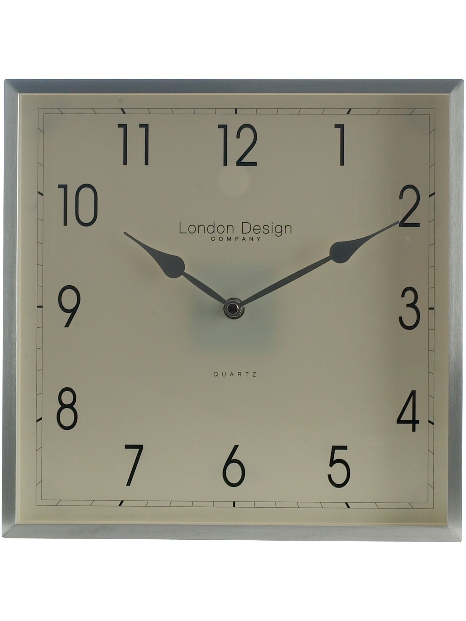 London Clock Large Square Wall Clock Review Compare