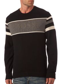 Hugo Boss Logo front knit