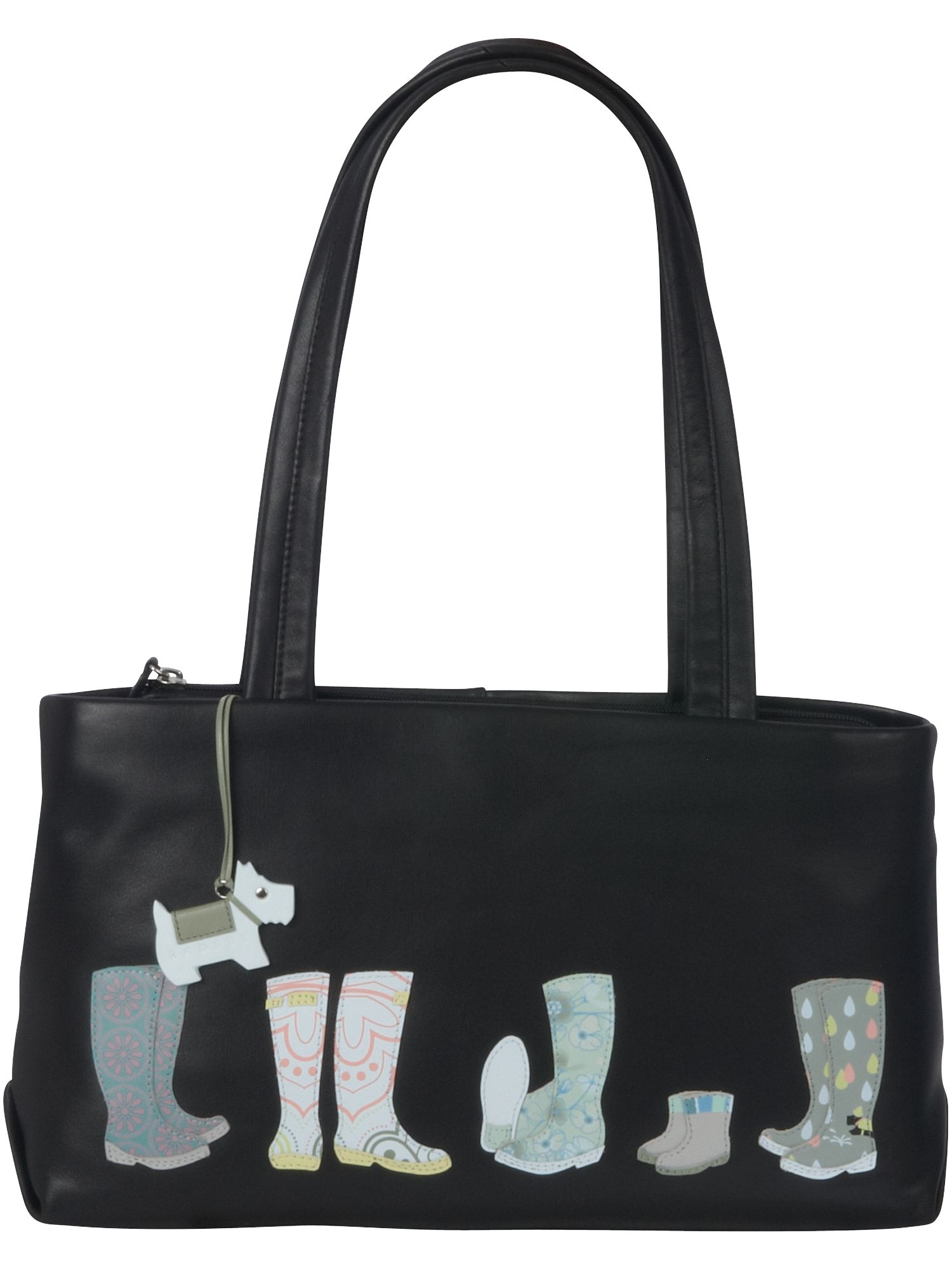 Waterloo medium leather tote bag