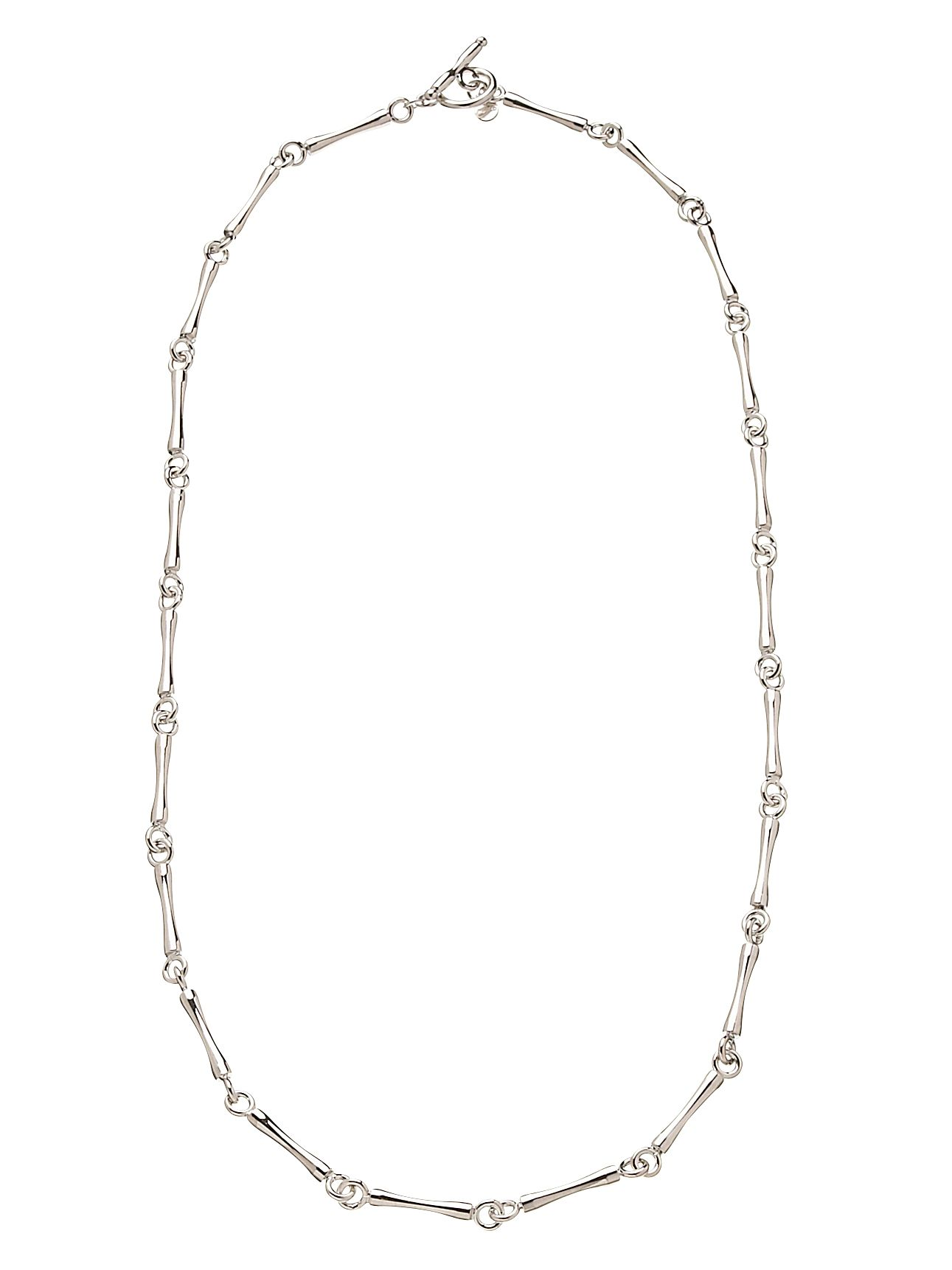 Bone chain necklace