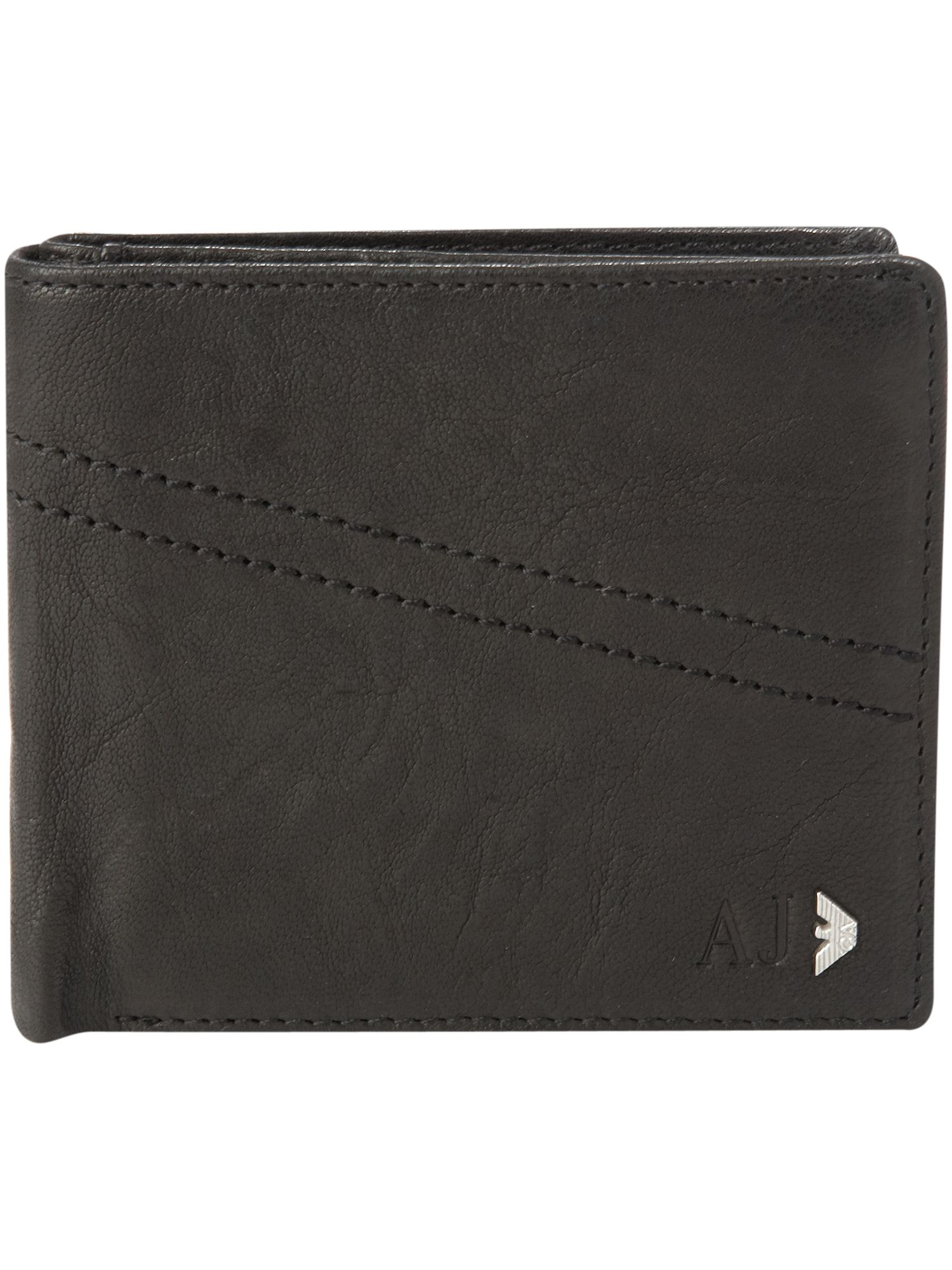 Armani Jeans Billfold logo wallet product image