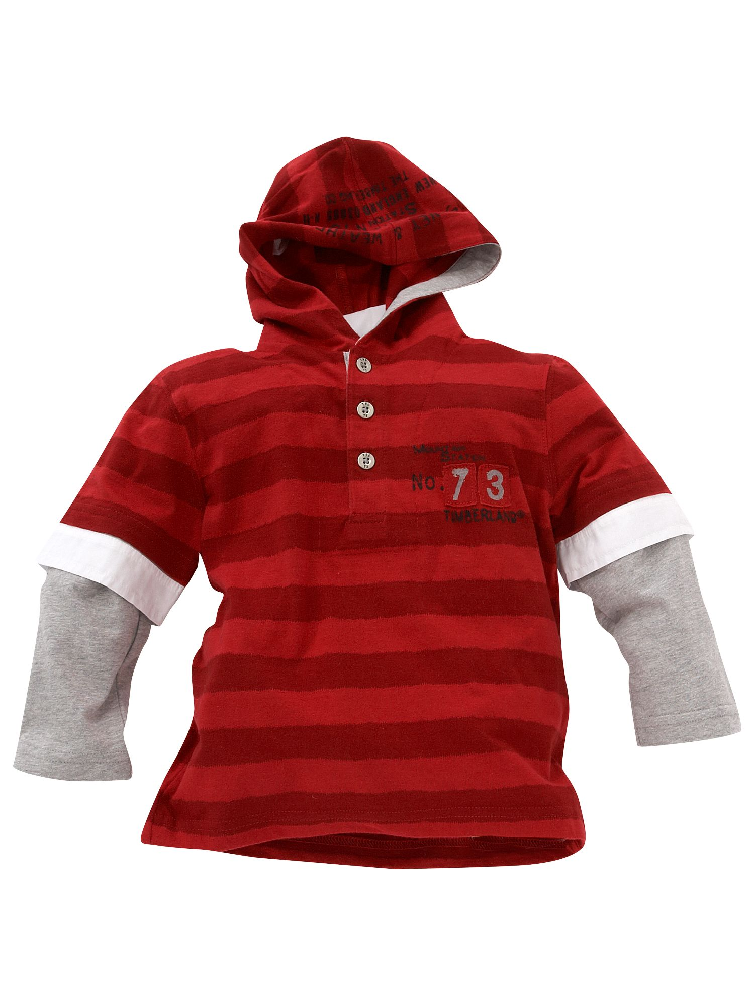 Timberland Long-sleeved striped rugby shirt with product image