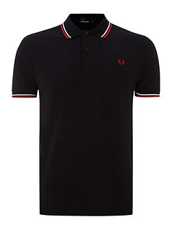 Men's Fred Perry Short-Sleeve Cotton Polo Shirt