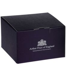 Arthur Price Plain 6oz pewter hip flask