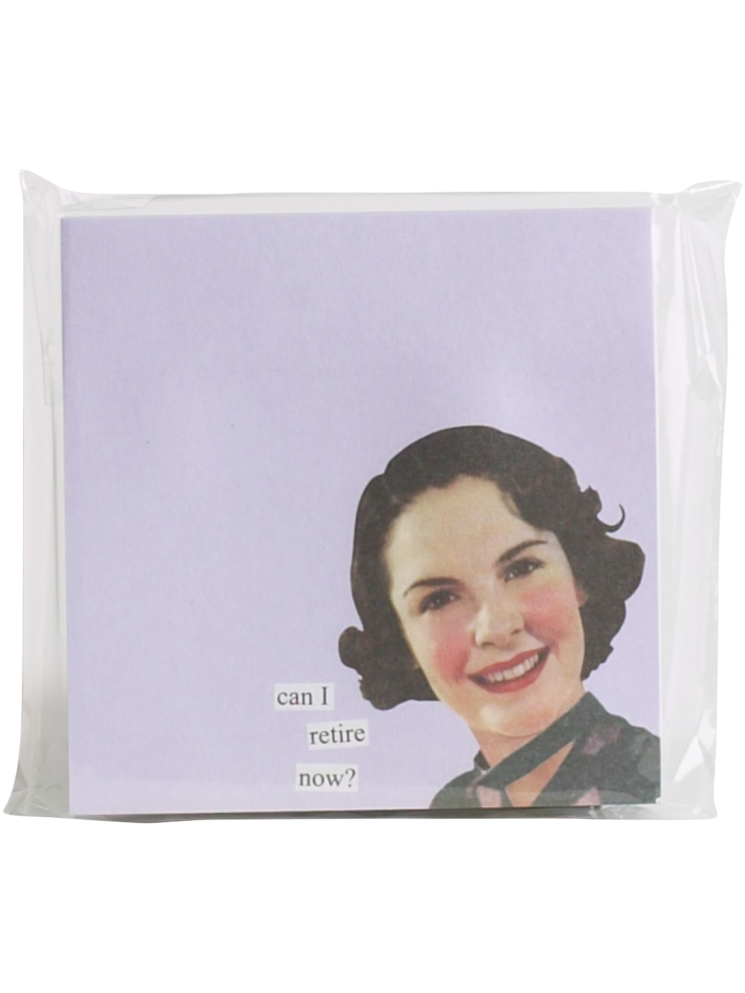 Anne Taintor Can I Retire Now? post it notes product image