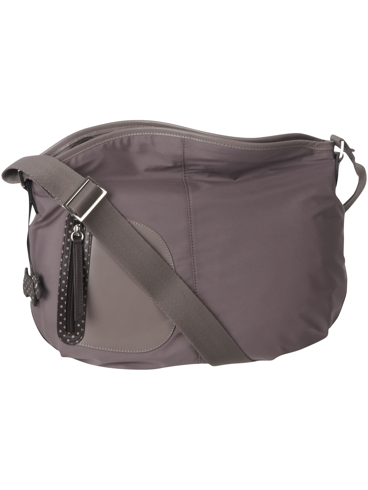 Pursuit large nylon cross body bag
