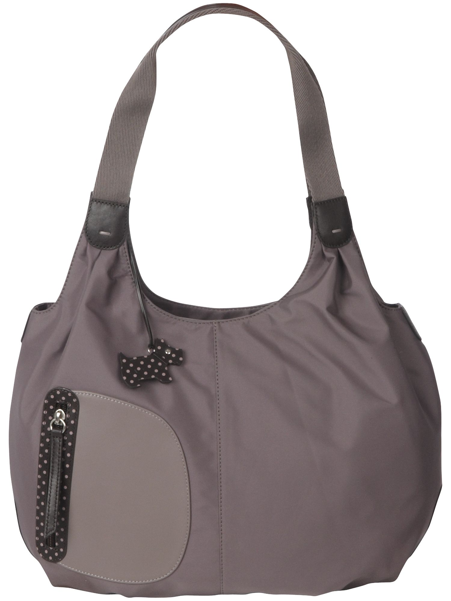 Pursuit large nylon shoulder tote bag
