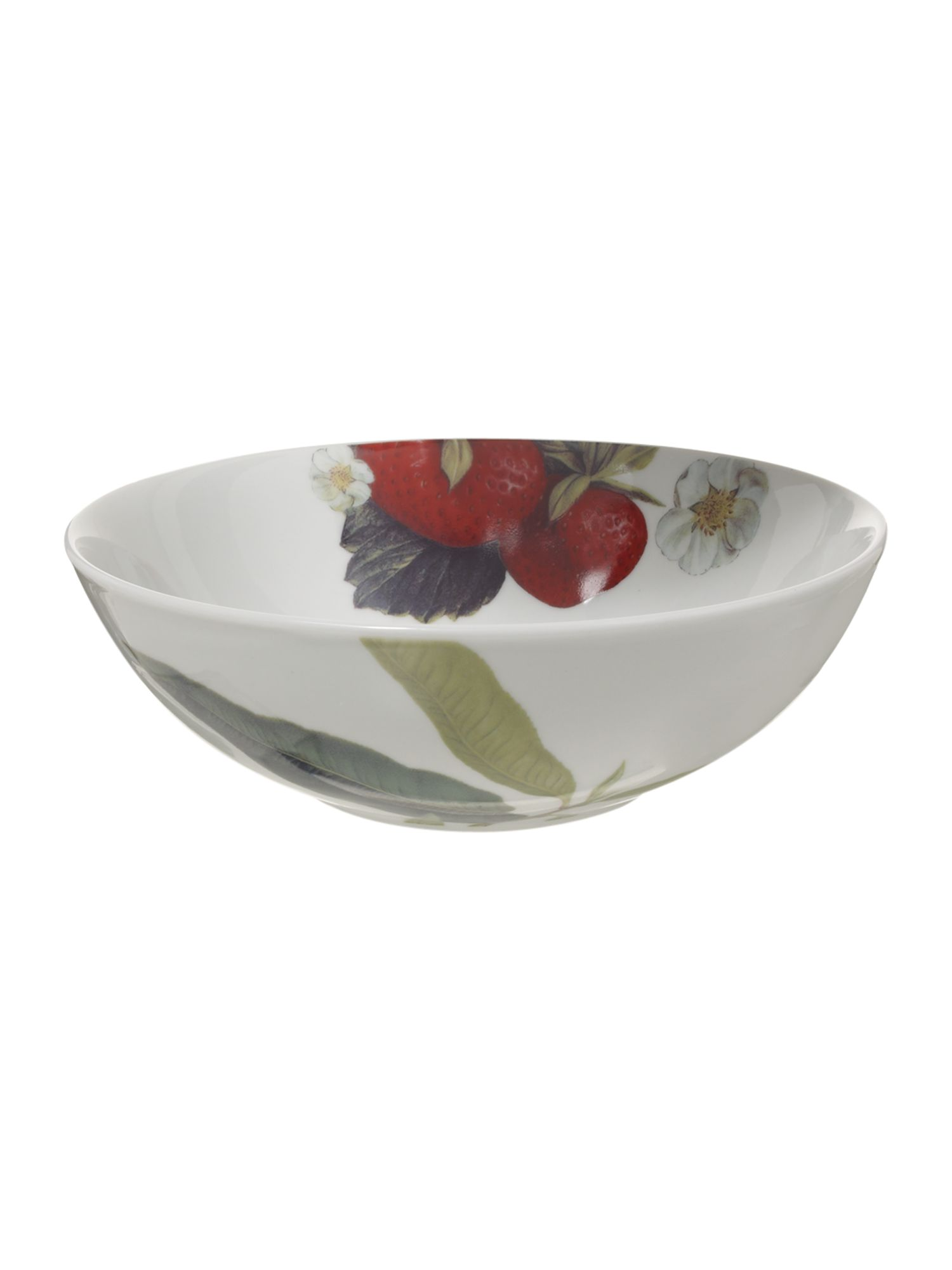 Botanical fruits cereal bowl
