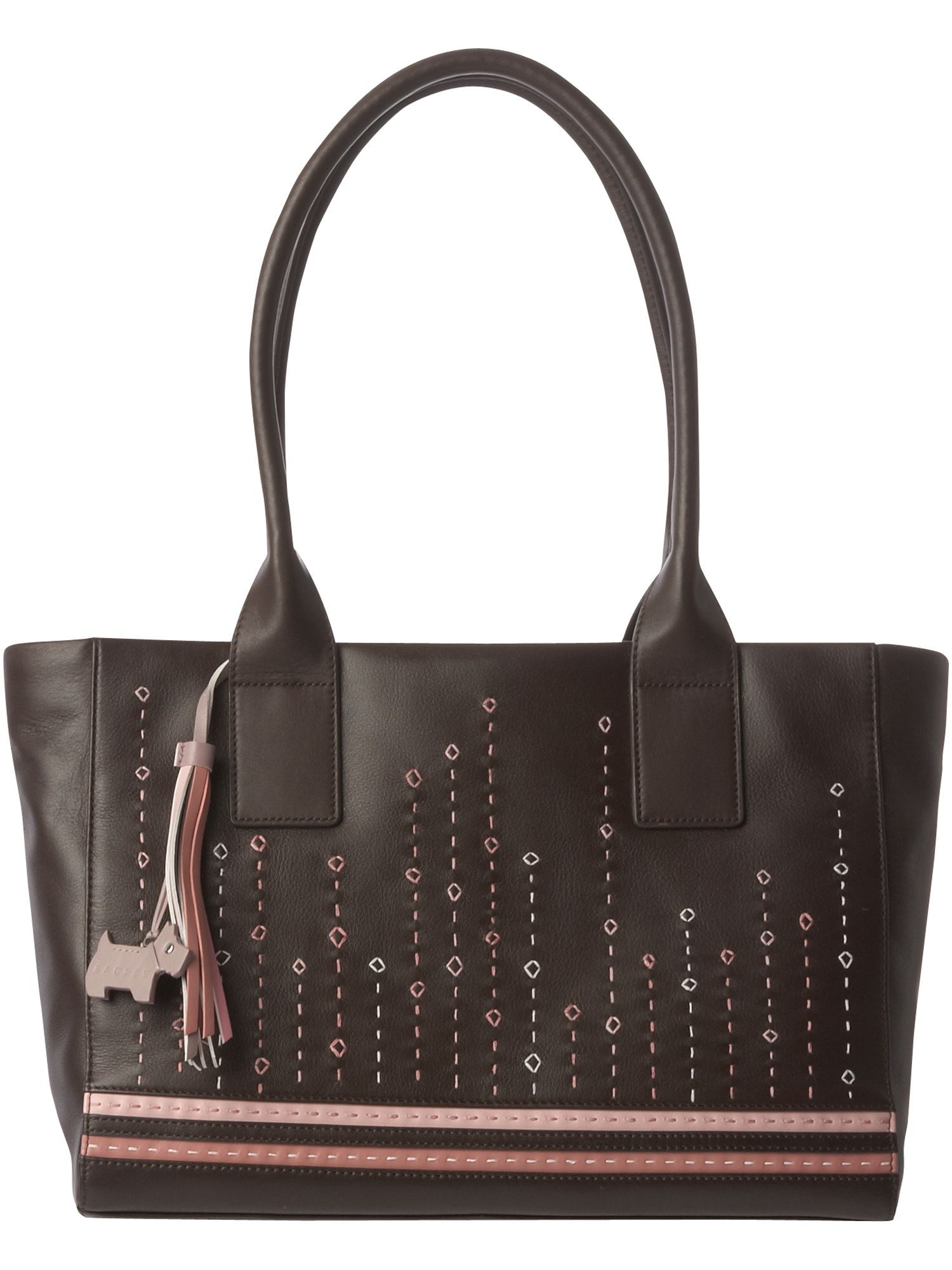 Pimlico large leather shoulder tote bag.