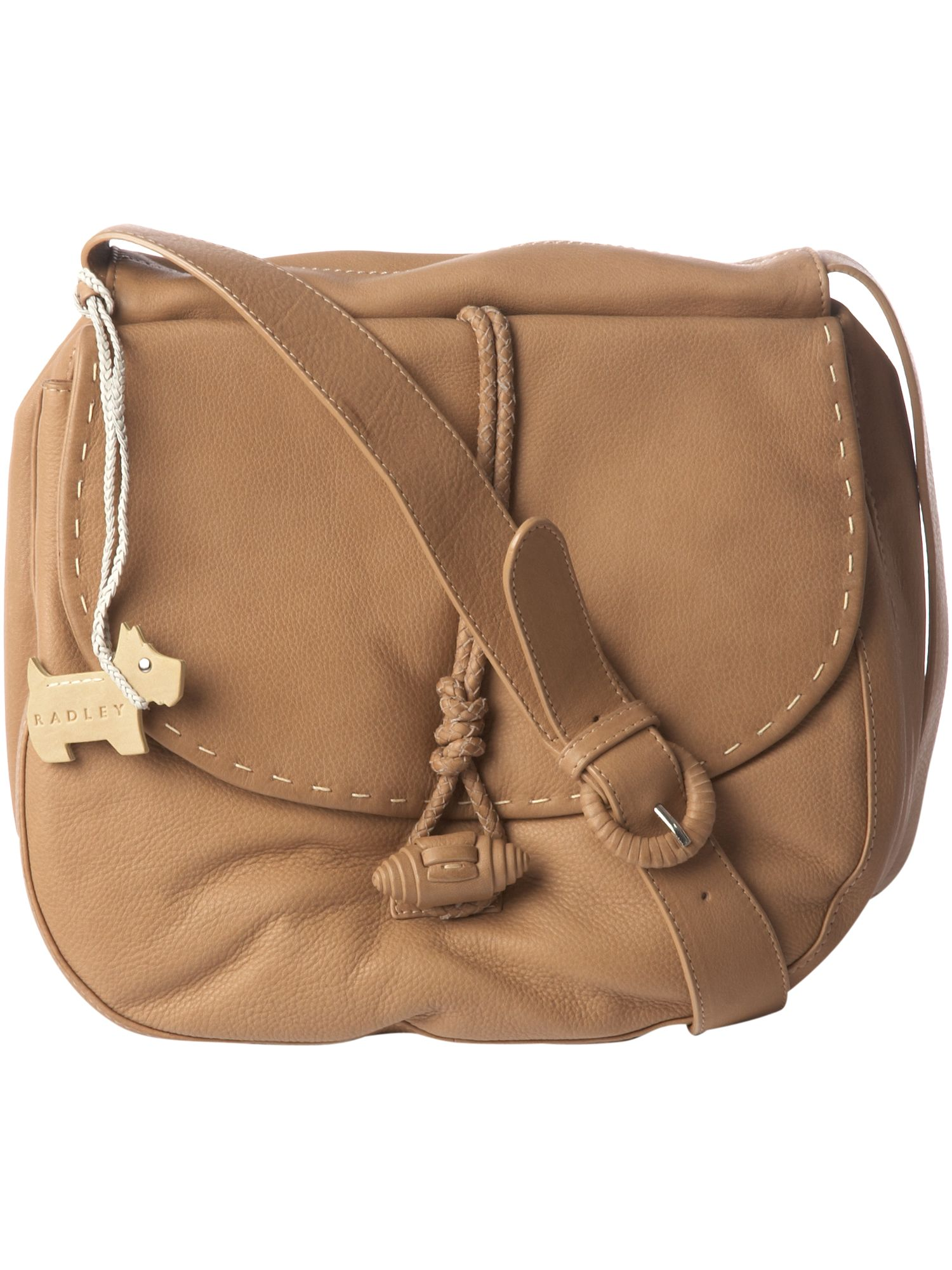 Notting Hill leather flapover cross body