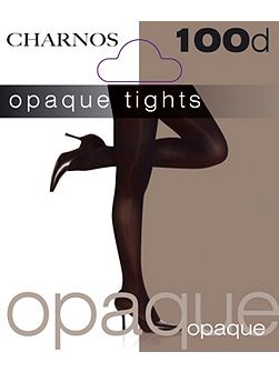 100 denier opaque tights