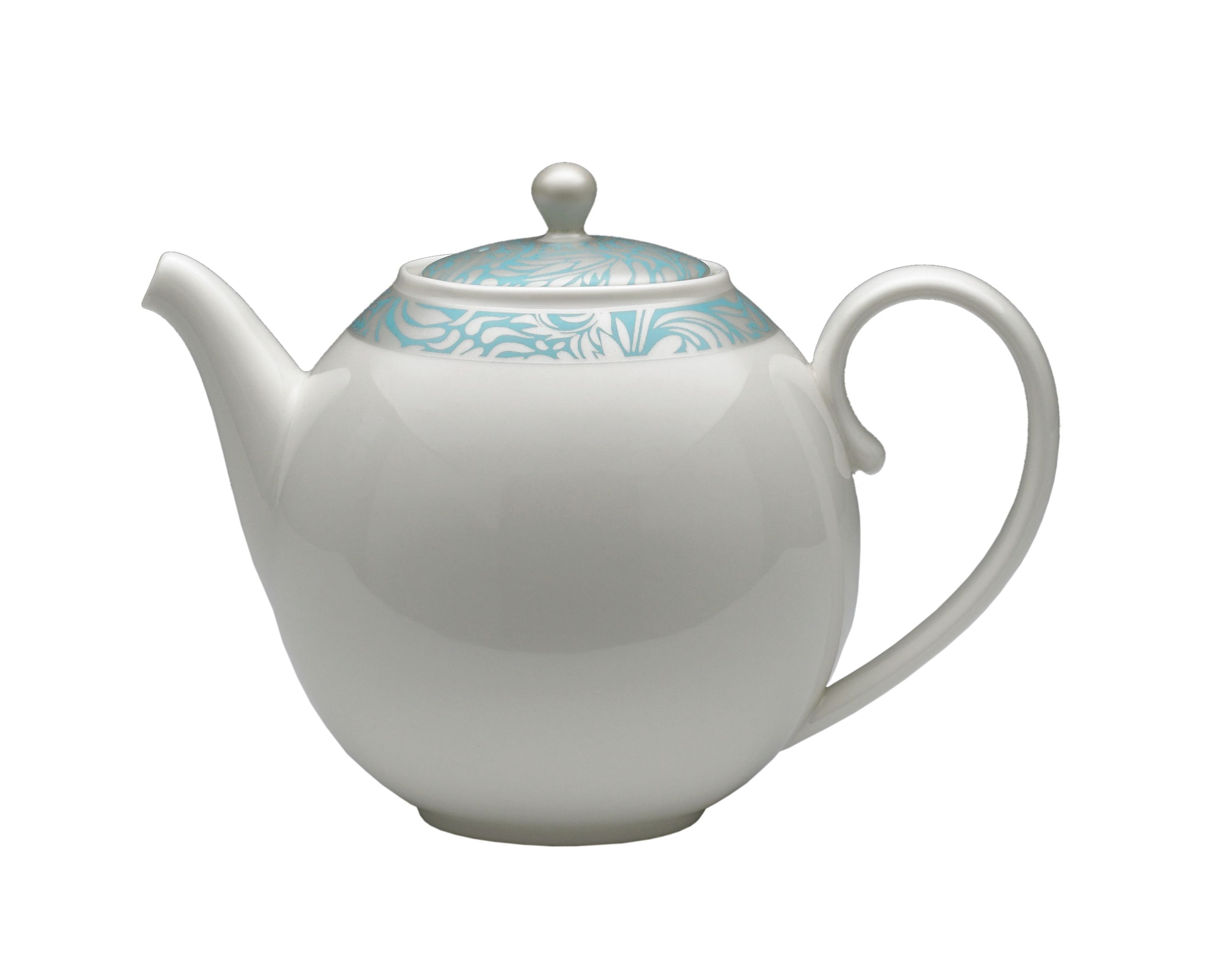 Monsoon Lucille teal teapot