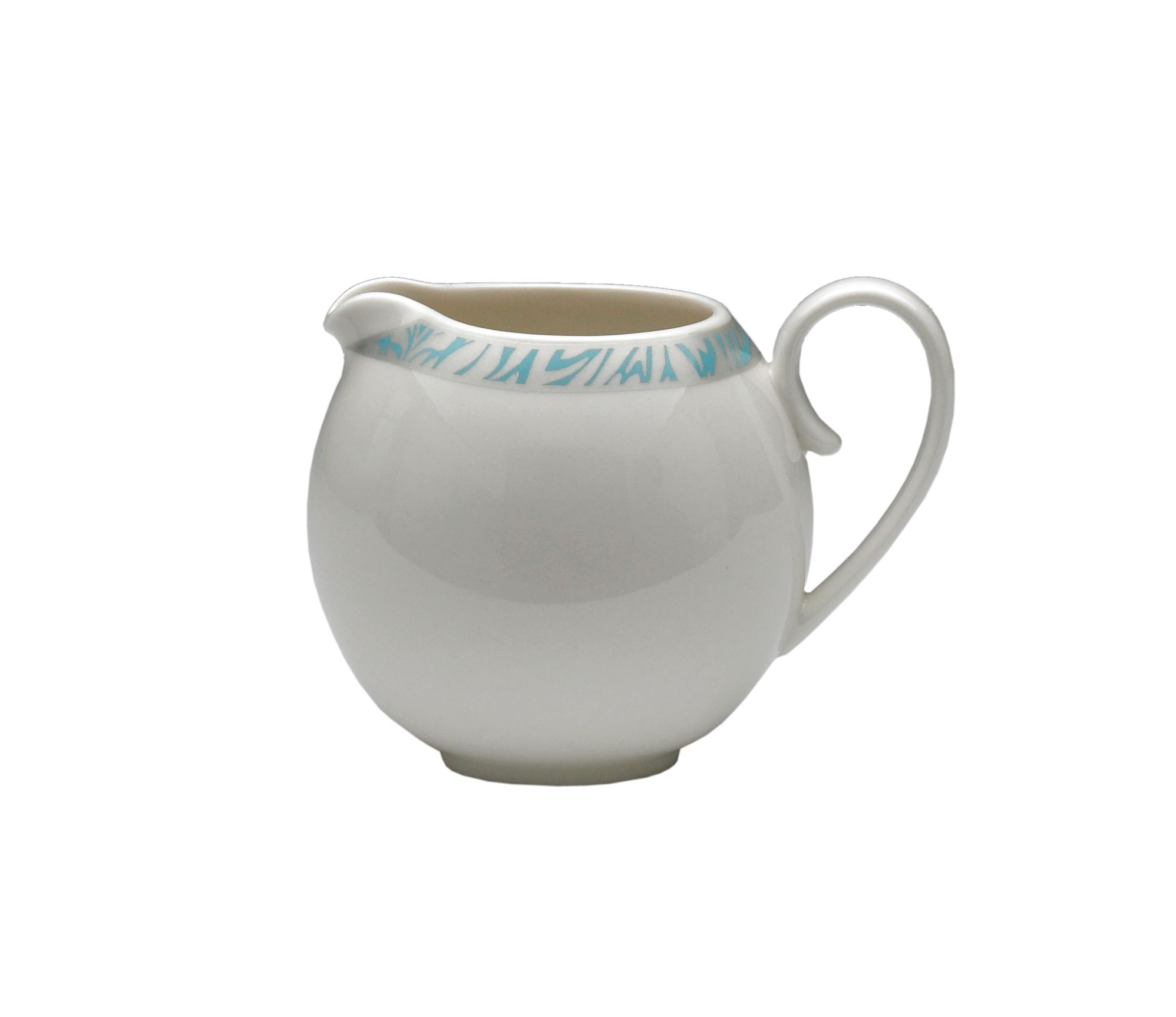 Monsoon Lucille teal small jug