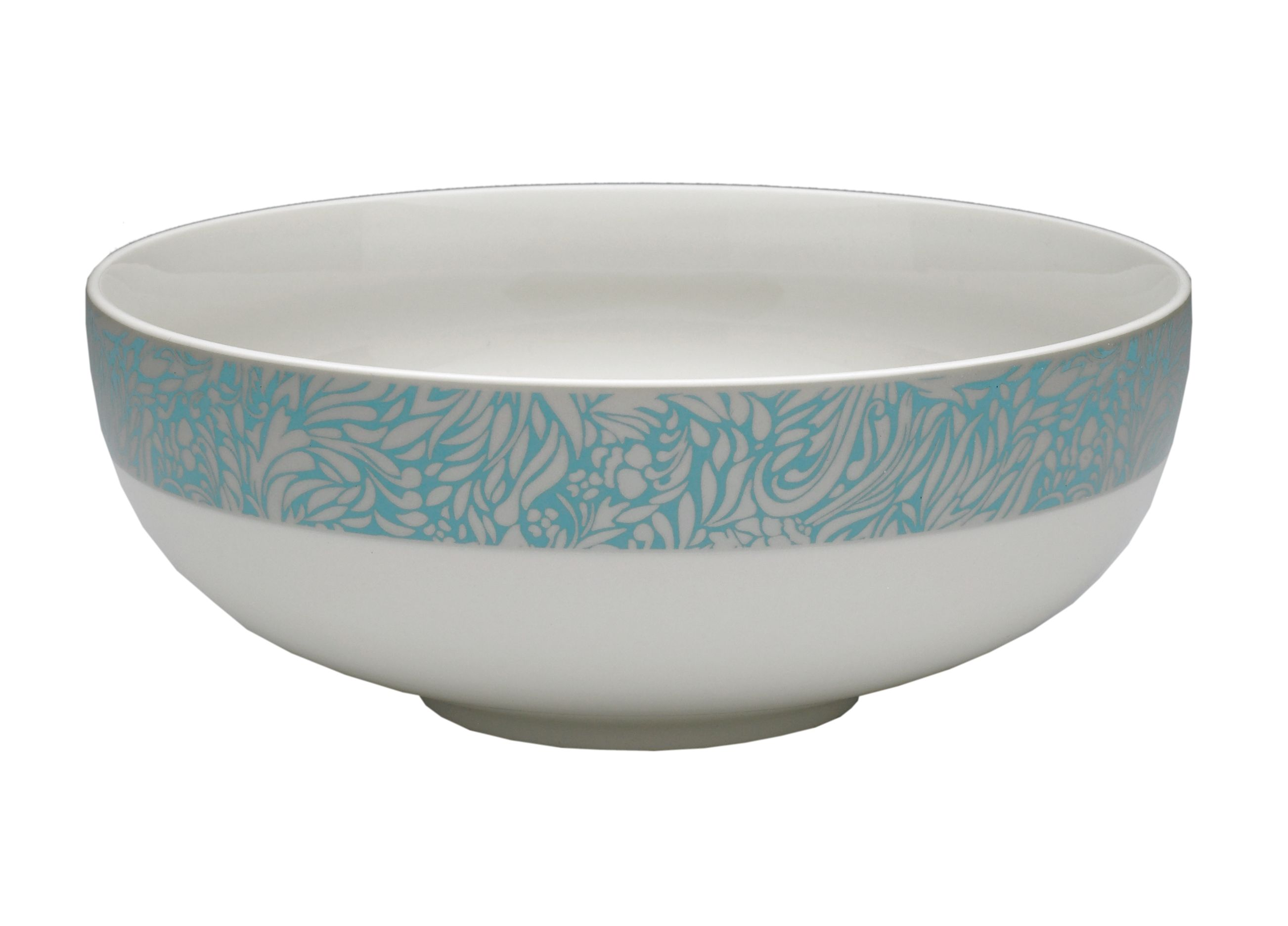 Monsoon Lucille teal serving bowl