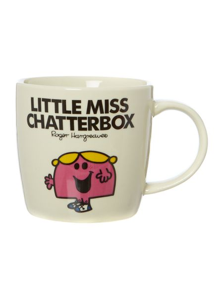 Mr Men Little Miss Chatterbox Mug
