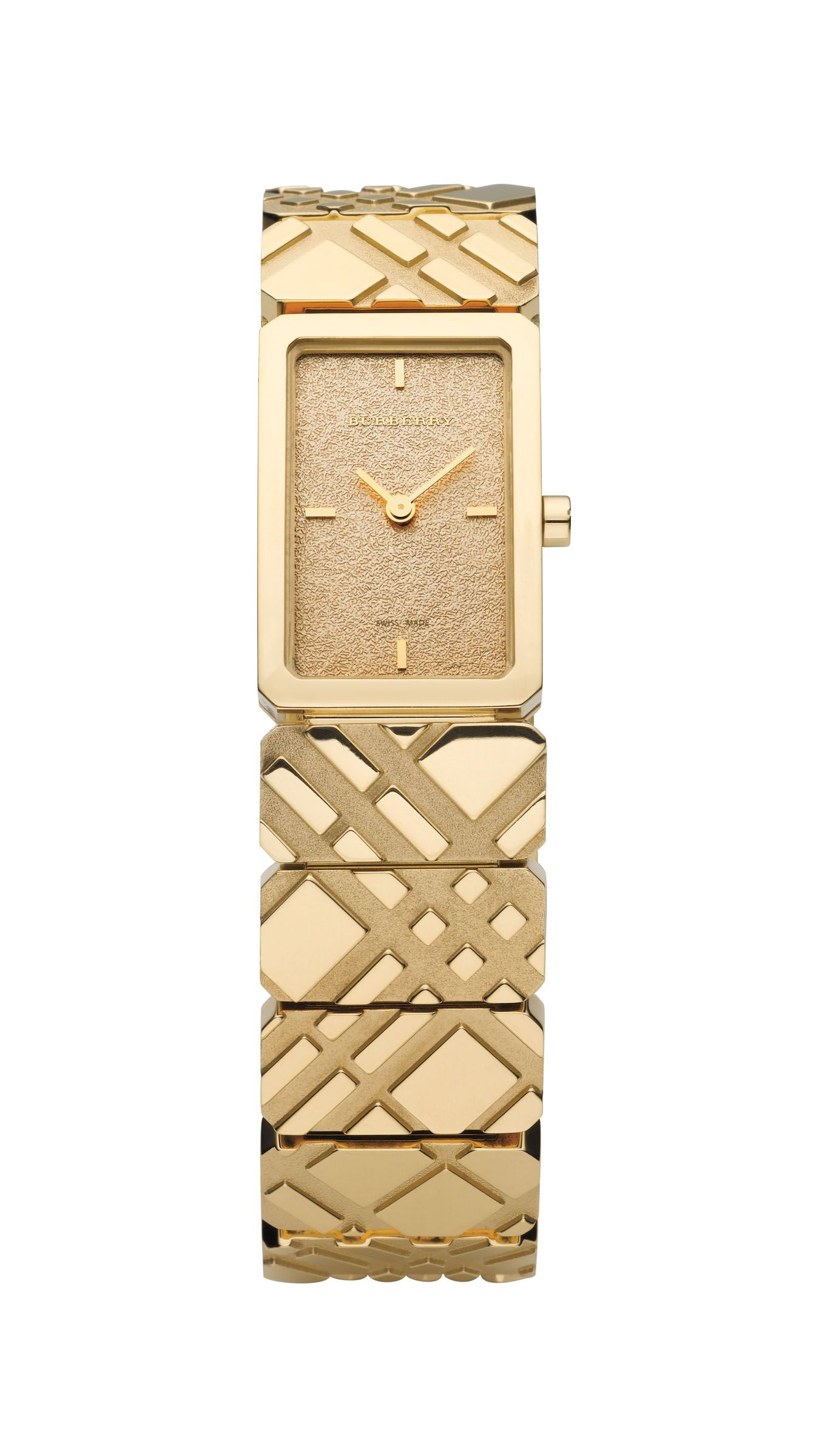 Rectangular dial watch