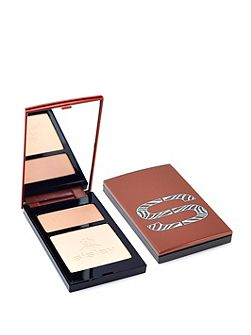 Sun Glow Pressed Powder Duo in Peach &