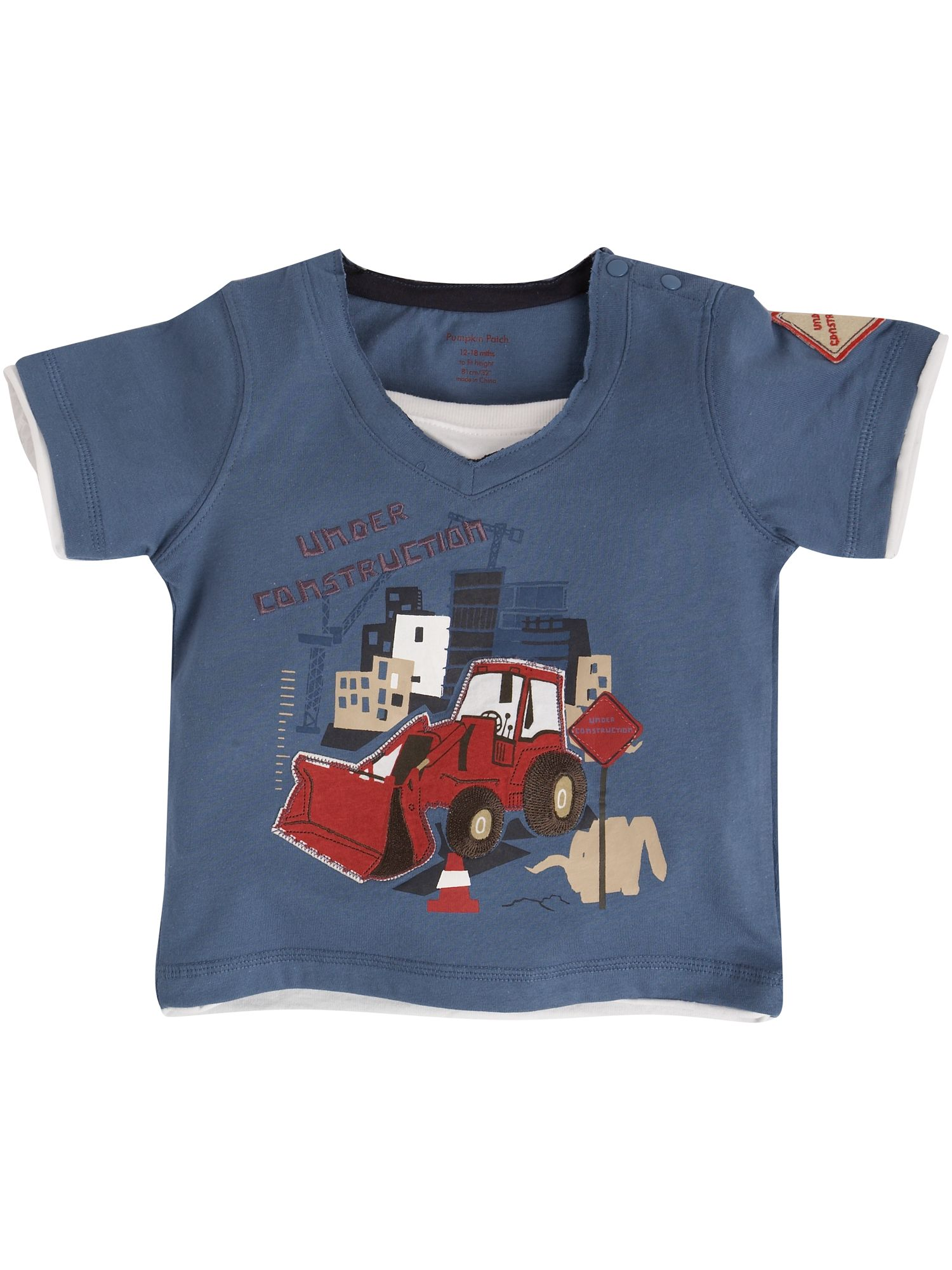 Pumpkin Patch T-Shirt with JCB applique product image