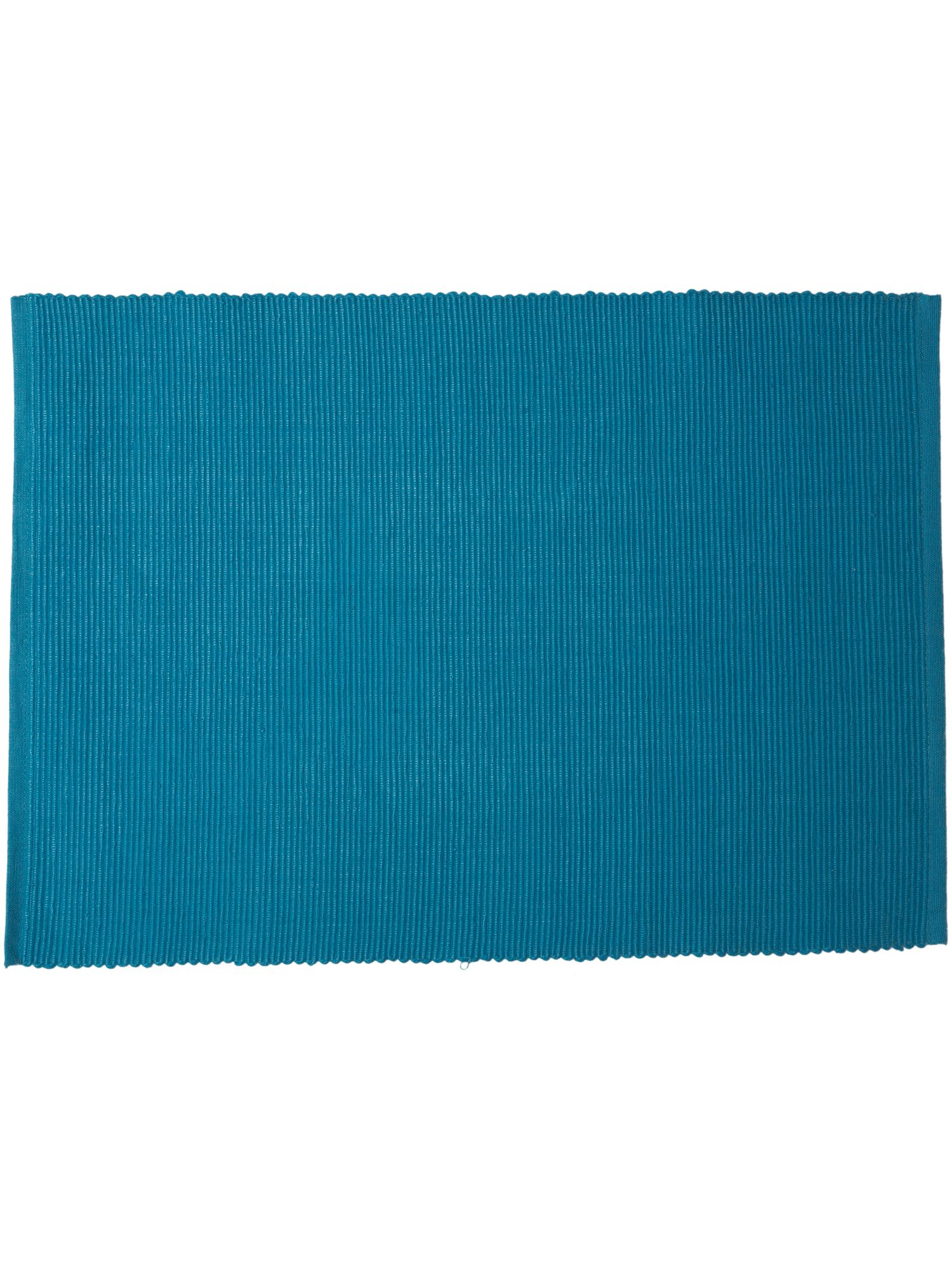 Collage turquoise placemat