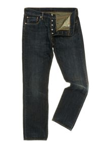 Levi's 501 Dusty Black Straight Jeans