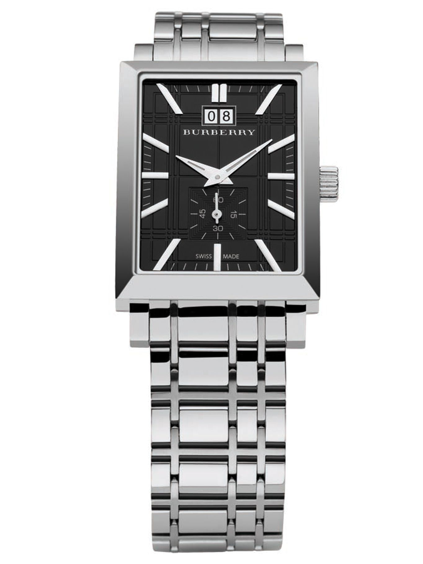 Classic stainless steel dress watch