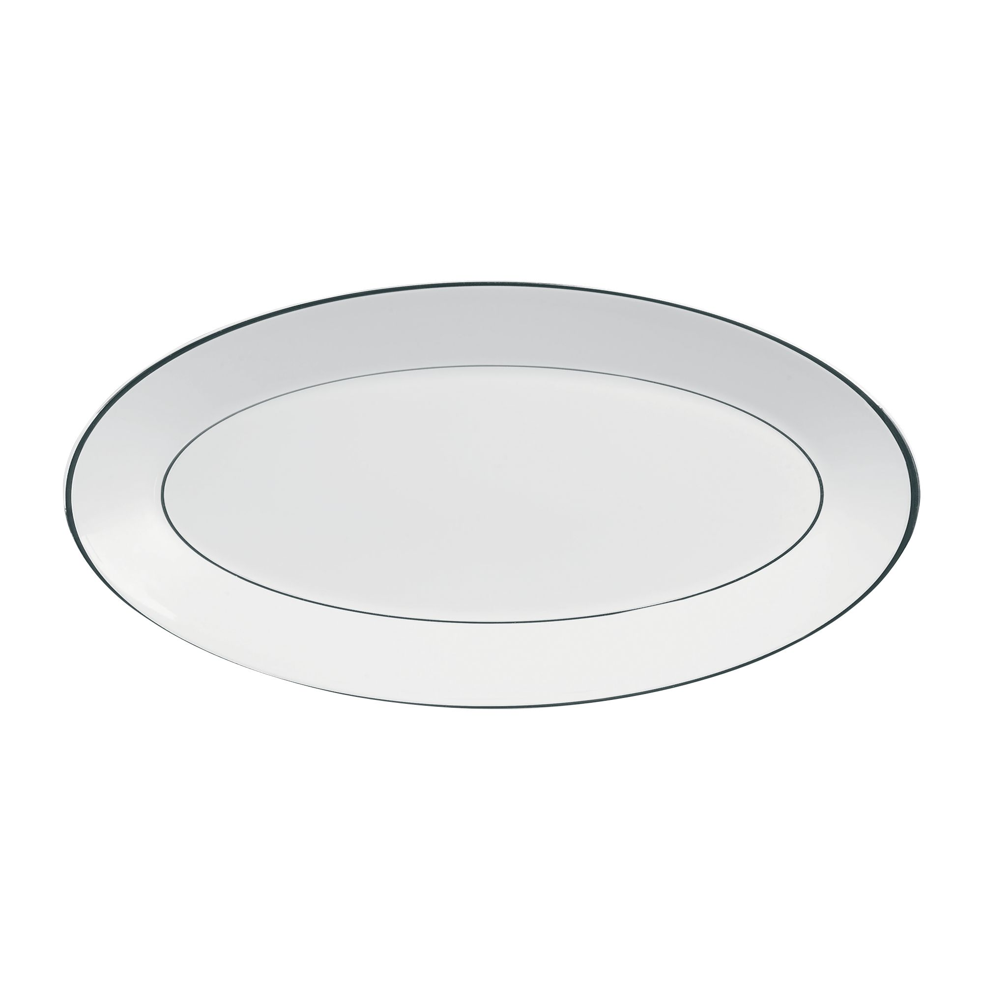 Platinum Small Oval Dish