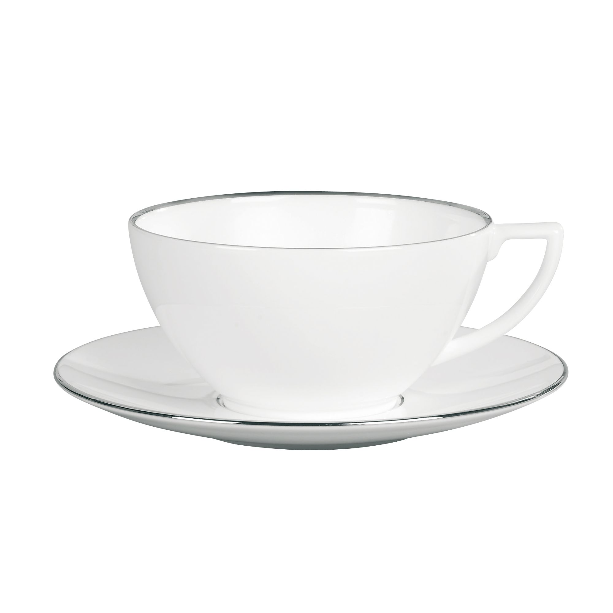 Platinum Large Tea Saucer