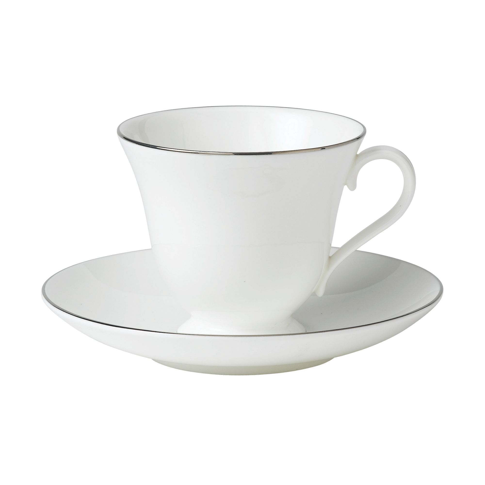Signet platinum fine china tea saucer