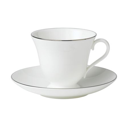 Wedgwood Signet platinum fine china tea saucer