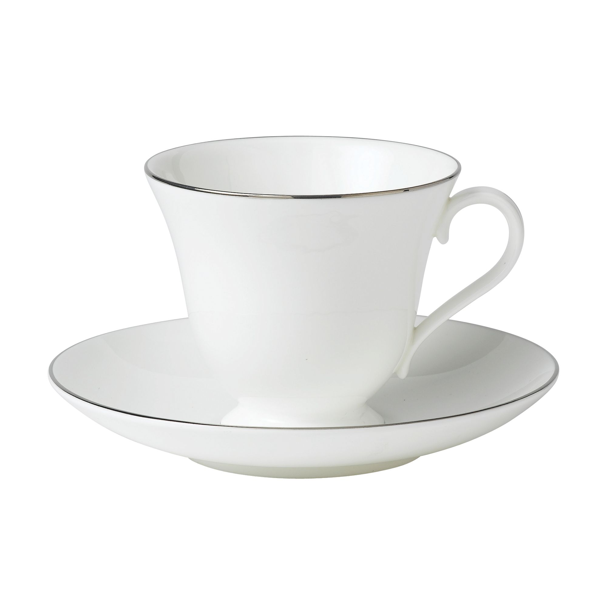 Signet platinum fine china teacup
