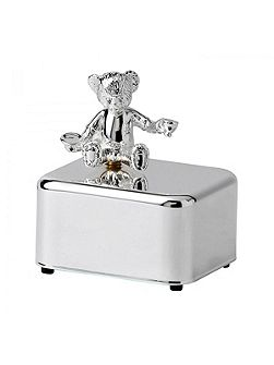 Christening bear collection music box